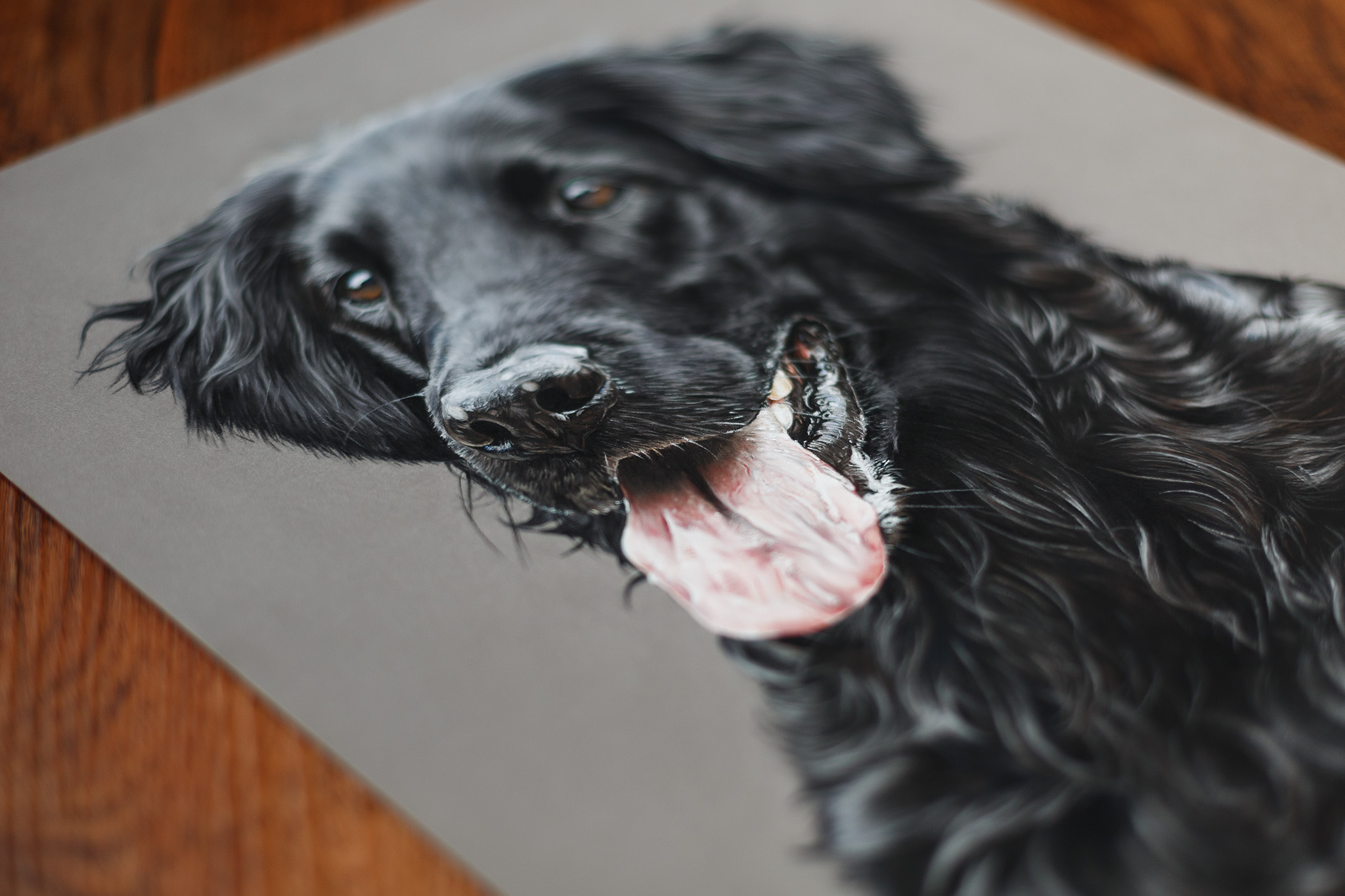 Paula Detail, 30x40 cm